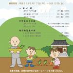 共生・地域文化大賞 第四回 アイデア部門チラシ